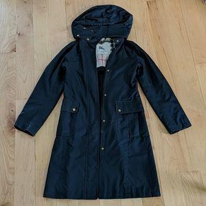 Burberry Black Carminton Raincoat